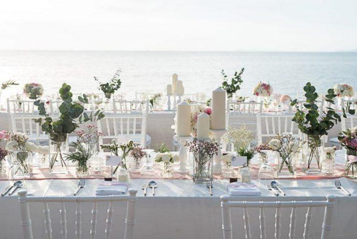 Mesas decoradas para bodas que te harán soñar
