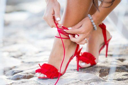 El poder que te dan unas sandalias rojas lo vas a conocer cuando las uses.