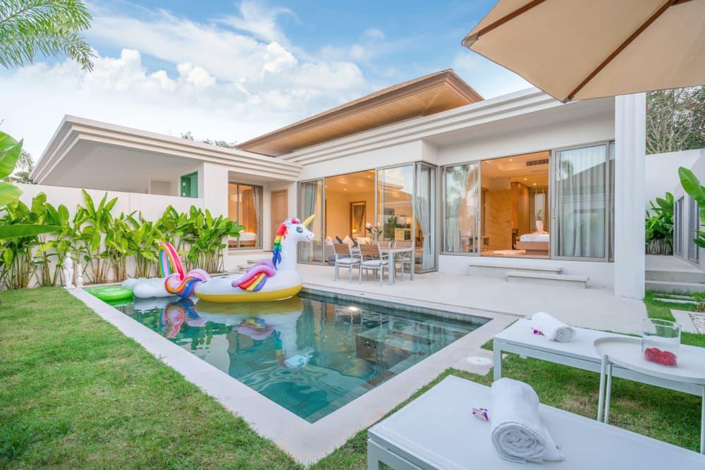 Las piscinas para casas son una excelente alternativa para disfrutar momentos especiales con la familia y tus amistades.